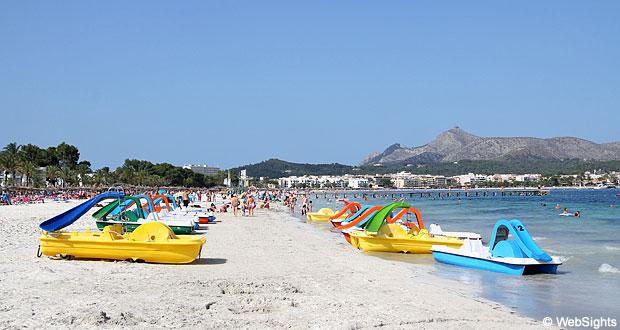 Port dAlcudia strand