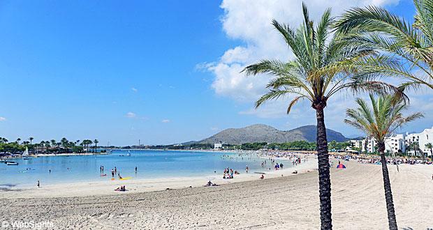 Alcudia strand Mallorca