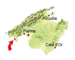 Santa Ponsa karta