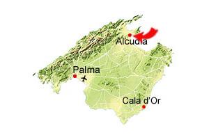 Port d'Alcudia karta