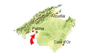 Karta Can Pastilla