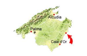 Porto Cristo karta